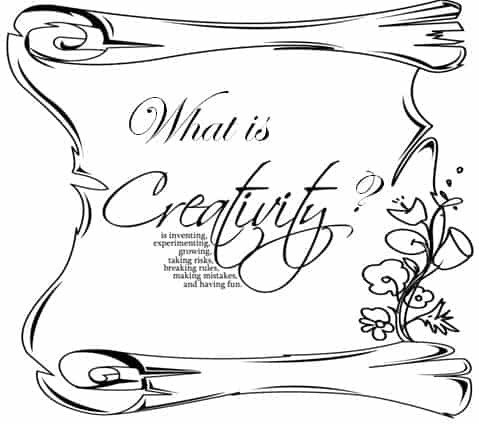 What is creativity ? whatwhy