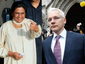 Mayawati and Assange : DailyJab.com