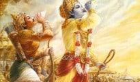 Krishna Arjun Mahabharata War