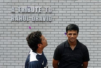 Rahul Dravid and Sachin Tendulkar : DailyJab.com
