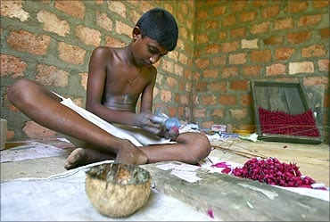 Child labour in firework industries