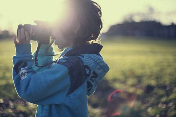 see the world through a child's eye