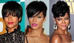 Rihanna pixie