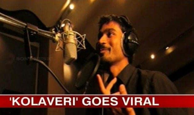 "Dhanush singing ""Kolaveri Di"""