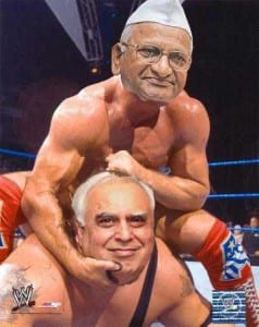 Anna Hazare and Kapil Sibal funny