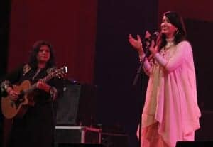 Zeb and Haniya during their performance at South Asian Film Festival, delhi