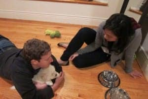 Mark Zuckerberg With Girlfriend