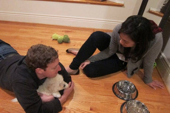 Mark Zuckerberg With Girlfriend