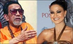 thackrey wants veena malik to be sent back