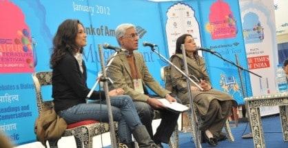 Fatima Bhutto, Karan thapar & Ayesha Jalal