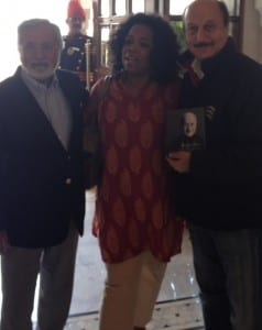 Oprah Winfrey_Anupam Kher's Book Launch at Jaipur Literature Festival