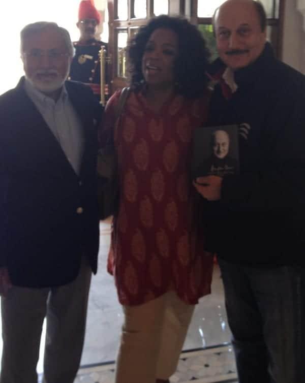 Oprah Winfrey_Anupam Kher's Book Launch at Jaipur Literature Festival