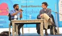 Samanth Subramanium in conversation with David Remnick at the DSC Jaipur Literature festival
