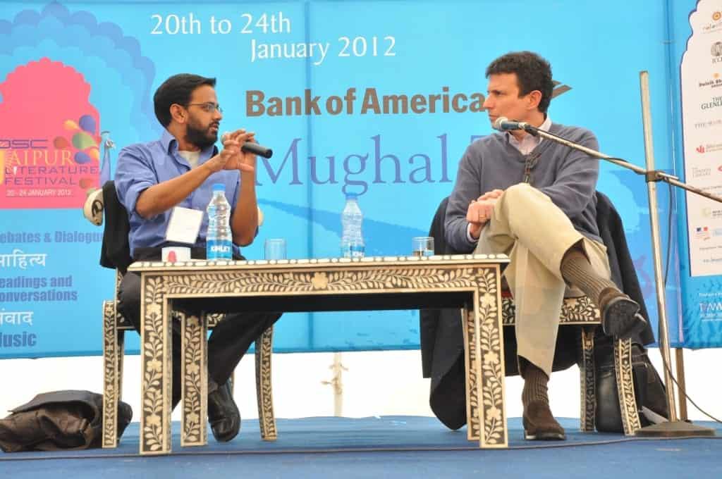 Samanth Subramanium in conversation with David Remnick at the DSC Jaipur Literature festival
