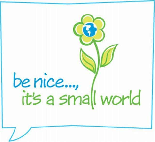 Be nice to people !
