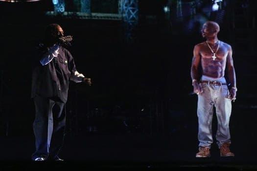 Tupac hologram on tour