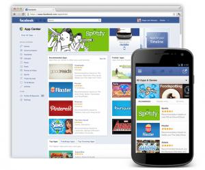 Facebook App Center to arrive soon....