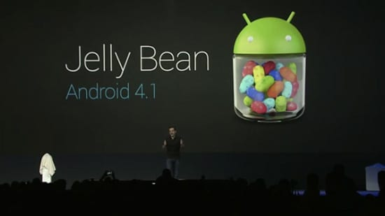 Android 4.1 Jelly Bean Announced At Google I/O 2012