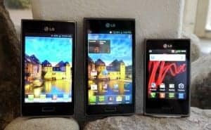 LG Optimus L5 L7 L3