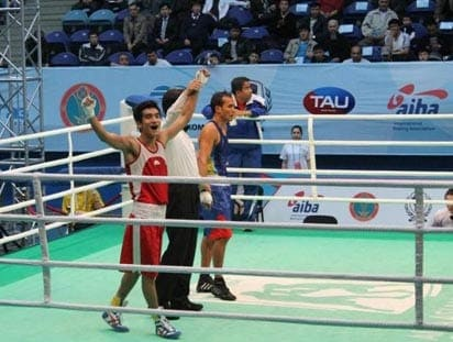 Shiva Thapa Qualifies For London Olympics 2012