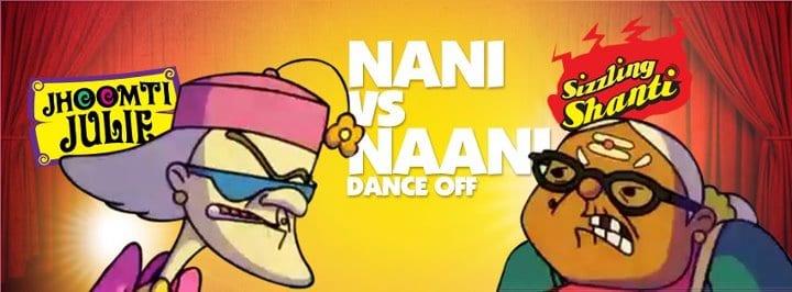 JUMPIN: Nani Vs Naani, the Dance-Off (Funny Grandma Animation Video)