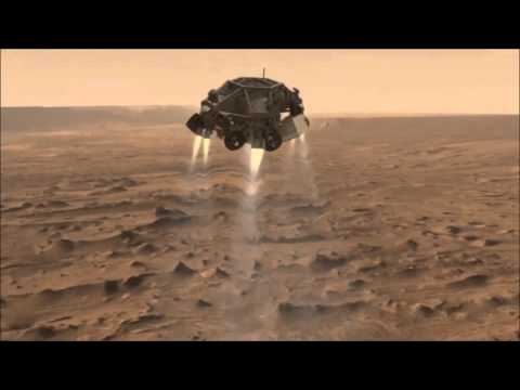 NASA's Curiosity Rover Lands On Mars