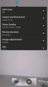 HTC One X Sense 4.1 Camera App