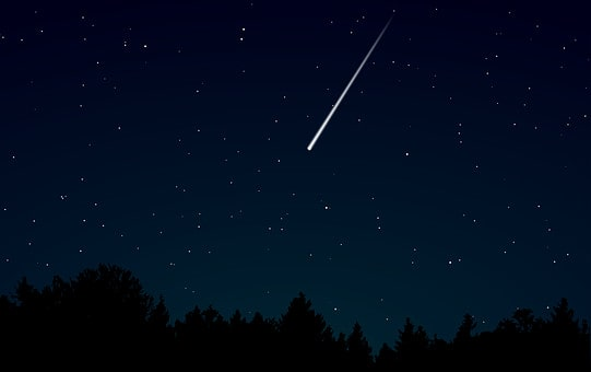 why do people wish on seeing a falling star?