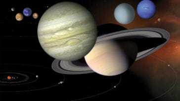 Planets and their Moons