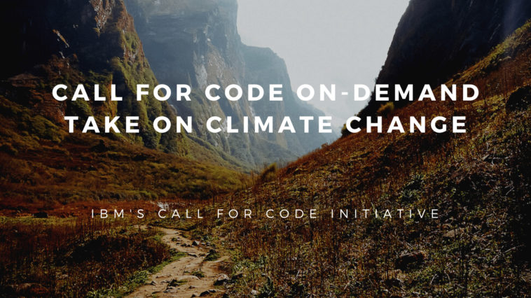 """Coders Assemble! Let's code to save the """"World"""". IBM's call for code initiative"""